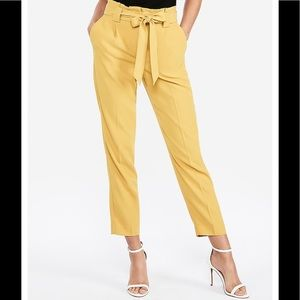 New with tags Express high sash waist pants size 4